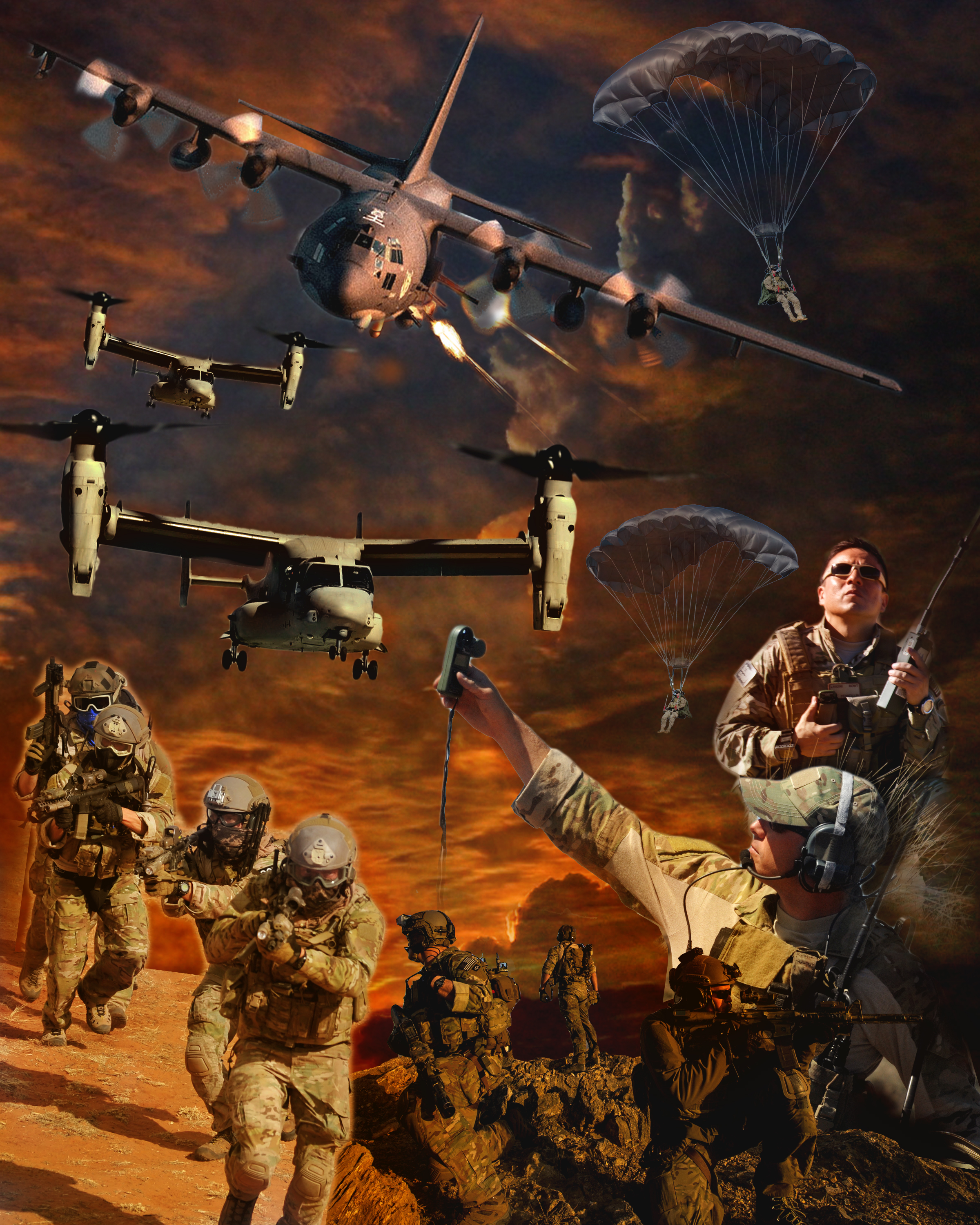 Air Force Special Tactics (24 SOW) > Who We Are > Combat ...
